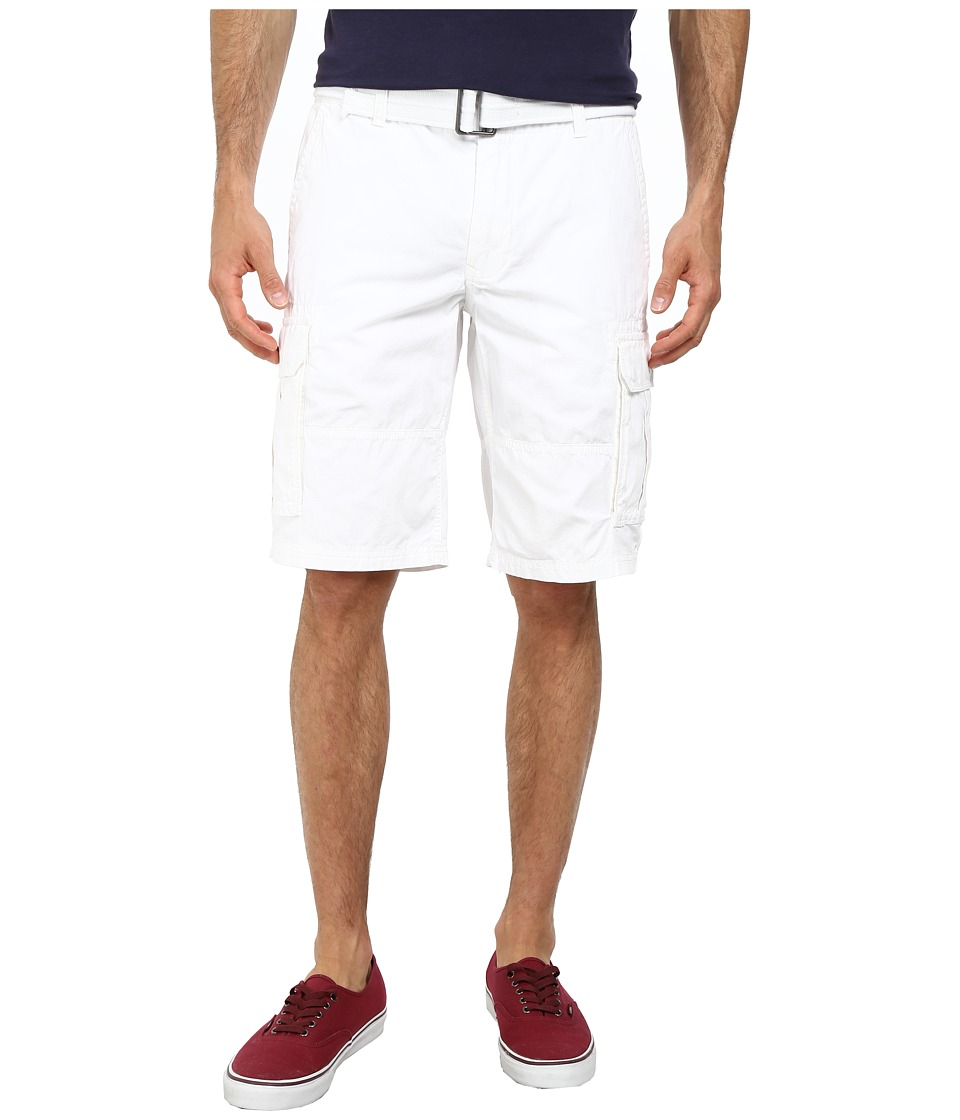 DKNY Jeans - Mini Ripstop Cargo Shorts in White (White) Men's Shorts