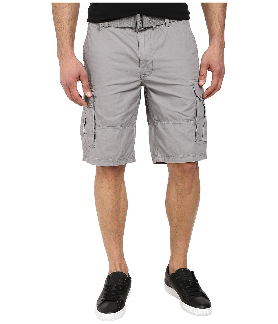 DKNY Jeans - Mini Ripstop Cargo Shorts in Frost Gray (Frost Gray) Men's Shorts