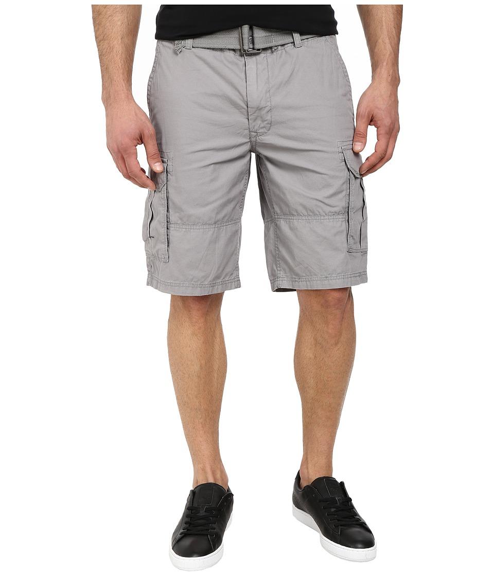 DKNY Jeans - Mini Ripstop Cargo Shorts in Frost Gray (Frost Gray) Men's Shorts