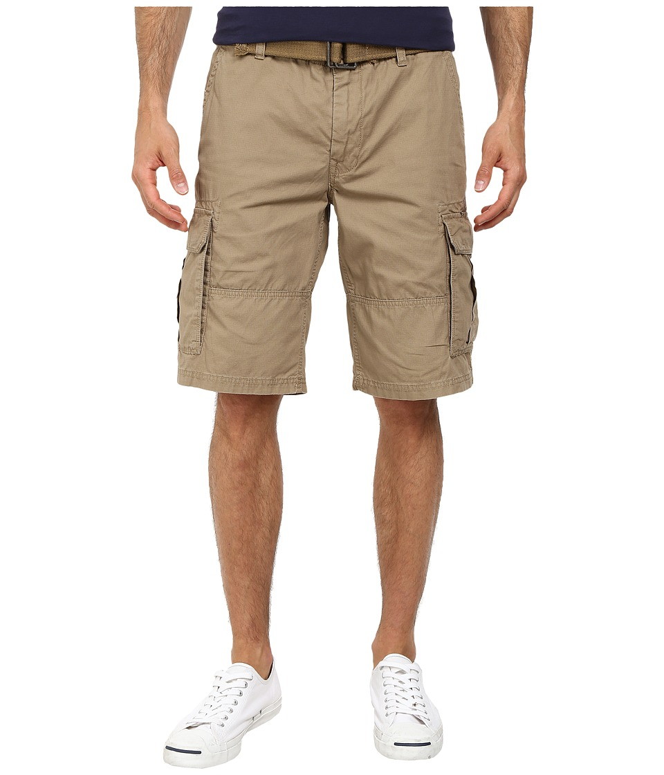 DKNY Jeans - Mini Ripstop Cargo Shorts in Lead Gray (Lead Gray) Men's Shorts