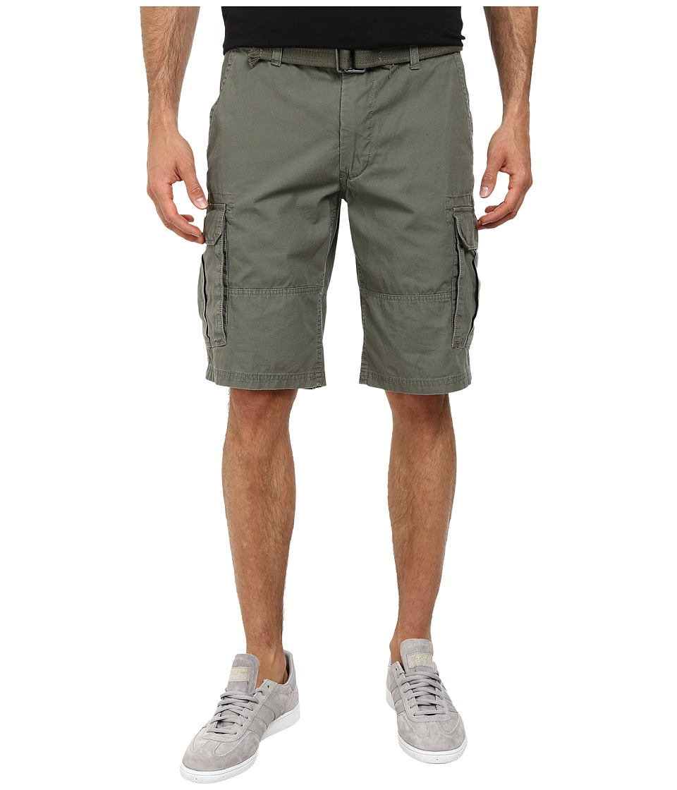 DKNY Jeans - Mini Ripstop Cargo Shorts in Dusty Olive (Dusty Olive) Men's Shorts