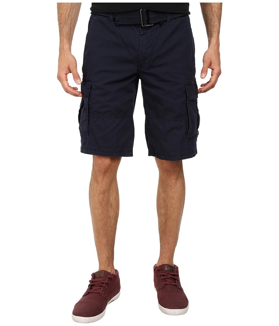 DKNY Jeans - Mini Ripstop Cargo Shorts in Classic Navy (Classic Navy) Men's Shorts