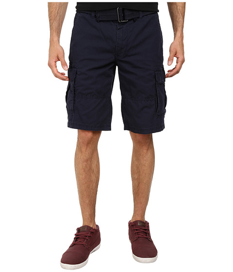 DKNY Jeans - Mini Ripstop Cargo Shorts in Classic Navy (Classic Navy) Men