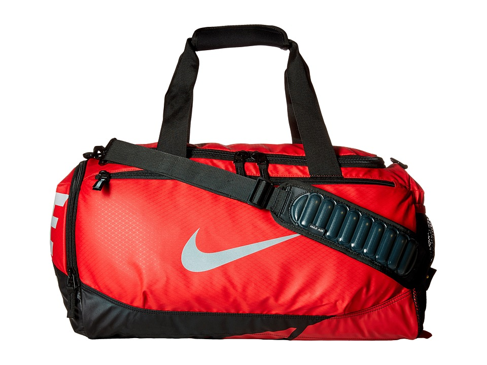 Nike Vapor Max Air Small Duffel (University Red/Black/Metallic Silver) Duffel Bags