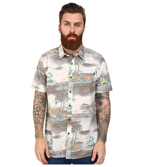Rip Curl - Island Time Short Sleeve Shirt (Charcoal) Men