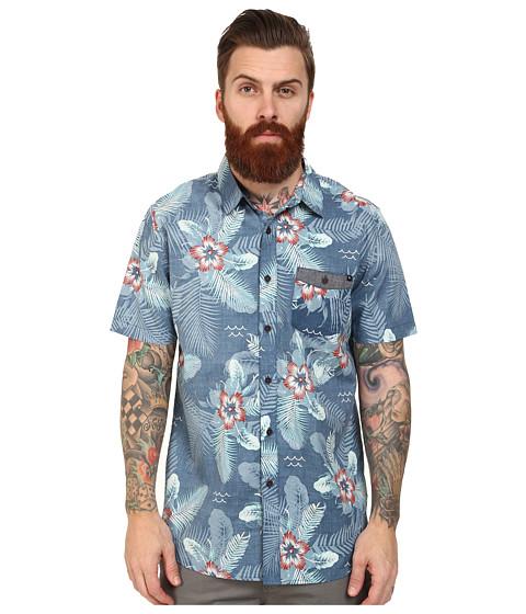 Rip Curl - Outcast Short Sleeve Shirt (Navy) Men
