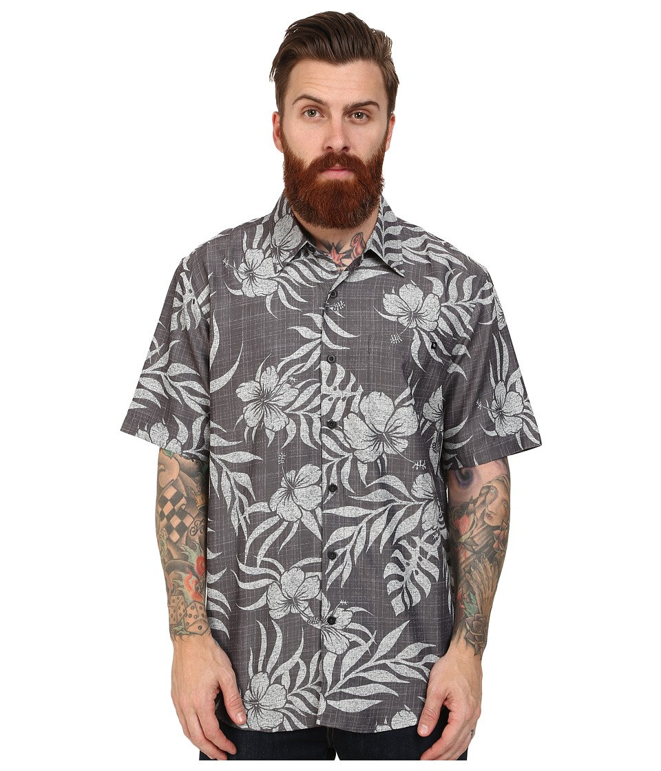 Rip Curl - Saguaro Short Sleeve Shirt (Charcoal) Men's Clothing