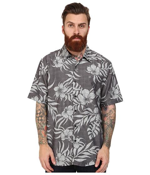 Rip Curl - Saguaro Short Sleeve Shirt (Charcoal) Men