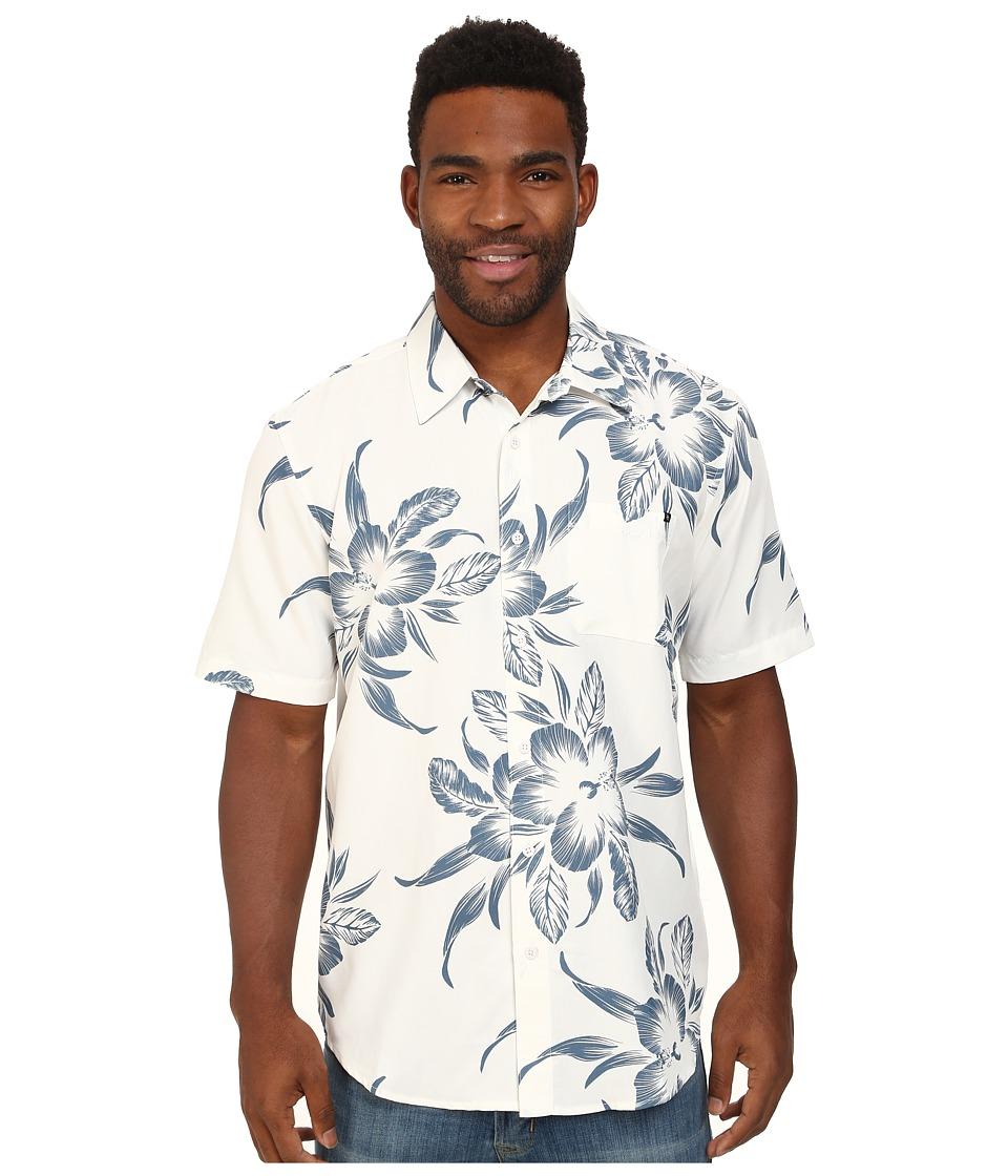 Rip Curl - Caicos Short Sleeve Shirt (Off White) Men