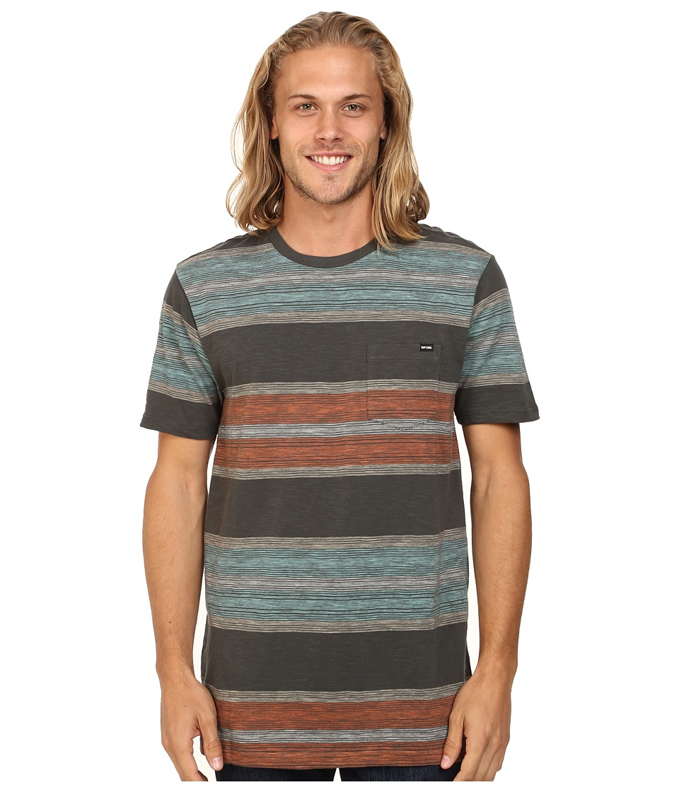 Rip Curl - Conch Crew (Charcoal) Men's Clothing
