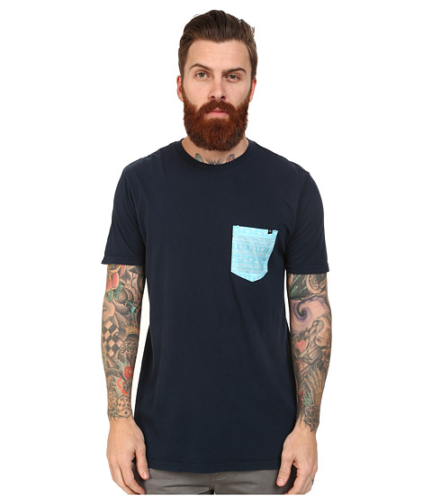 Rip Curl - Elmwood Custom Tee (Navy) Men
