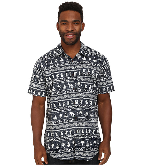 Rip Curl - Coco Cabana Short Sleeve Shirt (Navy) Men