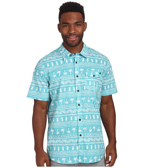 Rip Curl - Coco Cabana Short Sleeve Shirt (Aqua) Men