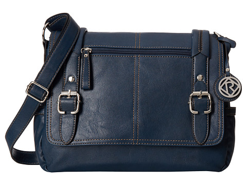 Relic - Bleeker Messenger (Navy) Messenger Bags