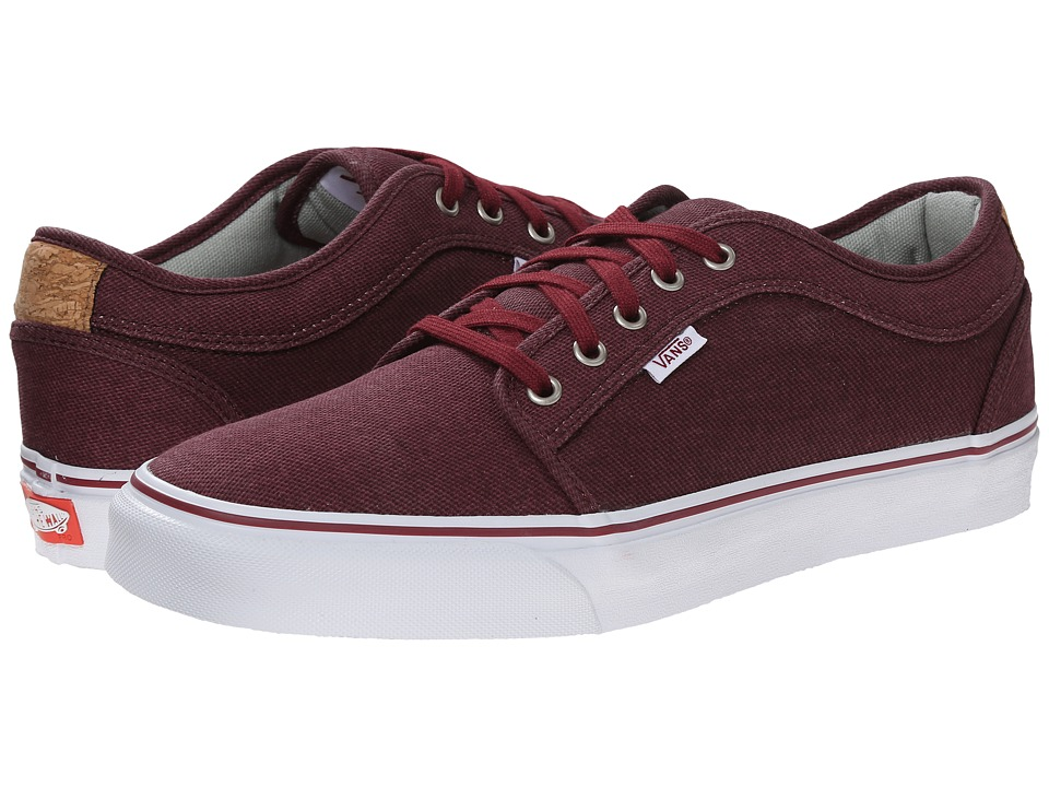 Vans - Chukka Low ((Cork) Wine) Men's Skate Shoes