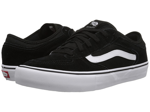 Vans - [Rowley] Pro (Black/White/Gum) Men's Skate Shoes