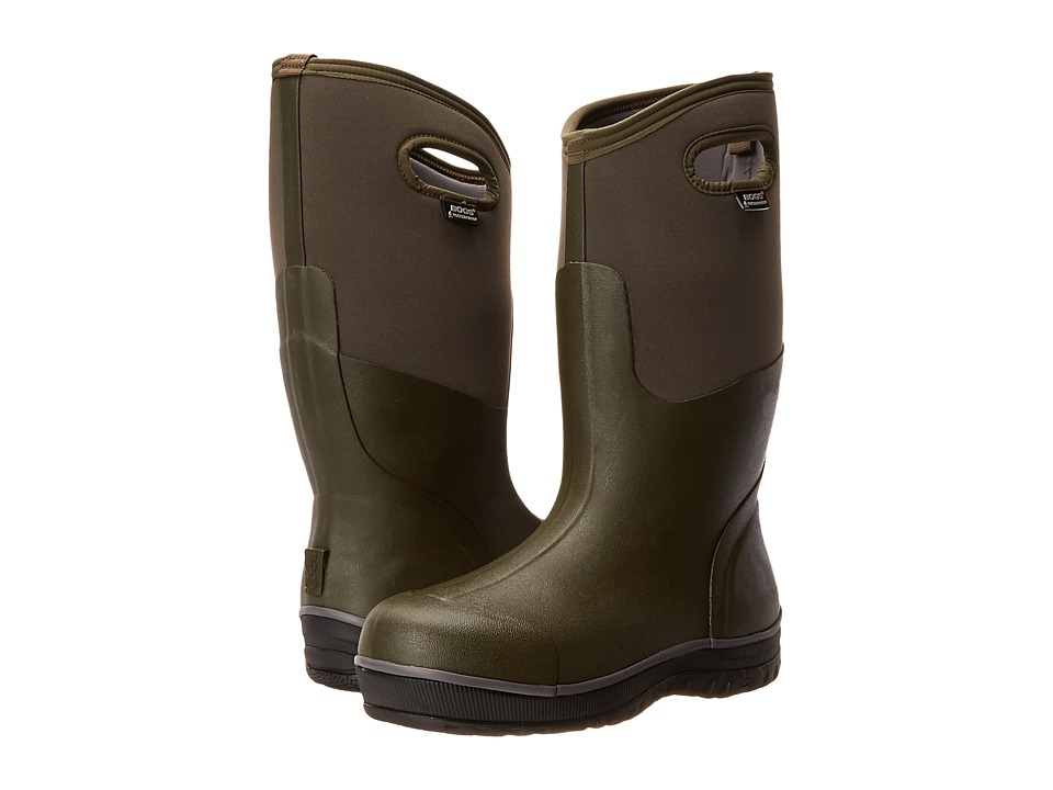 Bogs - Classic Ultra High (Army Green) Men's Waterproof Boots