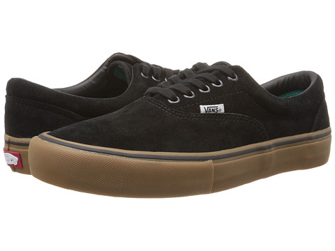 Vans - Era Pro (Black/Gum) Men