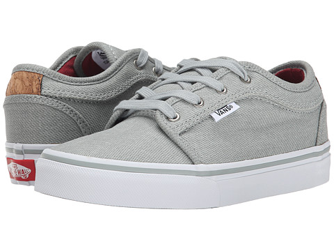 Vans Kids - Chukka Low (Little Kid/Big Kid) ((Cork) Grey) Boys Shoes