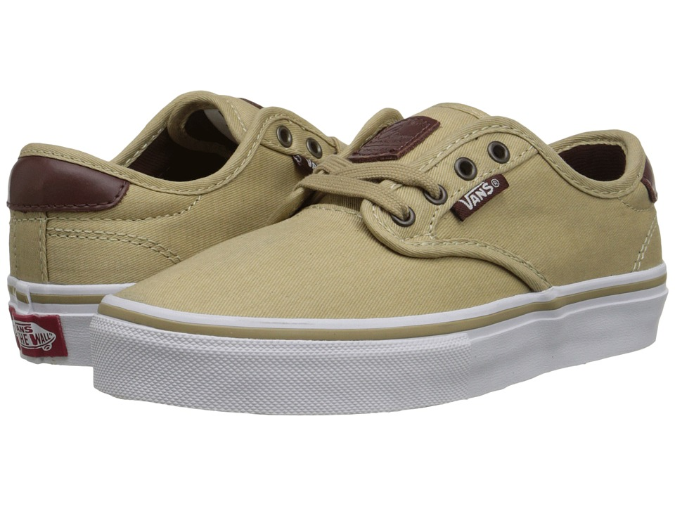 Vans Kids - Chima Pro (Little Kid/Big Kid) ((Tooled Leather) Khaki) Boys Shoes