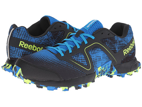 Reebok - Dirtkicker Trail II (Cycle Blue/Gravel/Black/Far Out Blue/Solar Yellow/Semi Solar Yel) Men