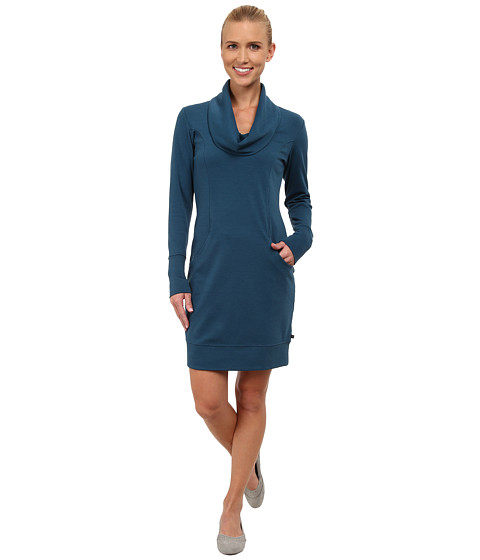 Merrell - Indira Comfy Cowl Dress (Legion Blue) Women's Dress
