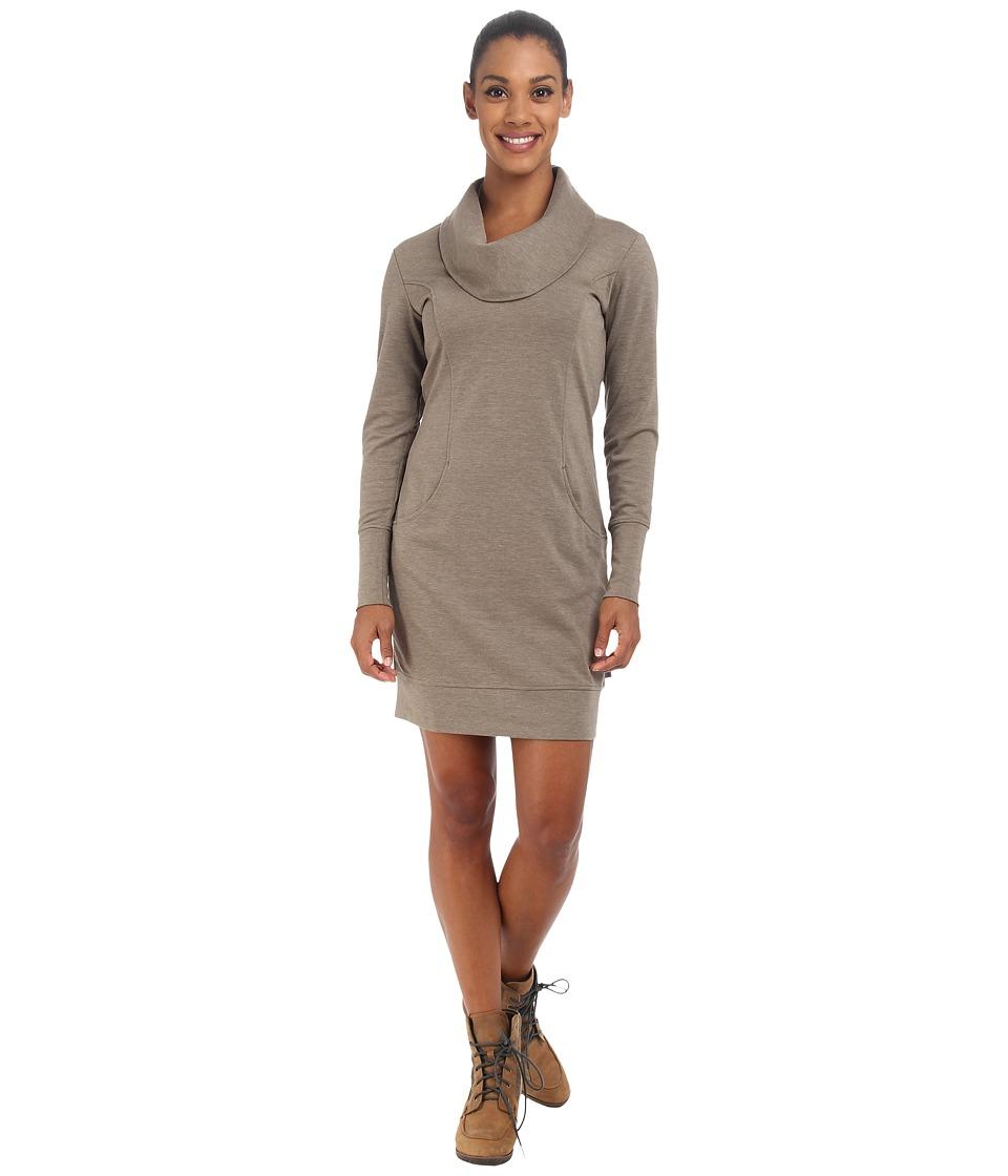 Merrell - Indira Comfy Cowl Dress (Clay Heather) Women's Dress