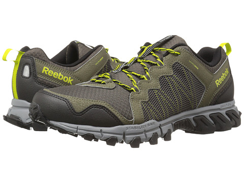 Reebok - Trail Grip 4.0 RS (Modern Olive/Vital Green/Flat Grey/Stone/Black) Men