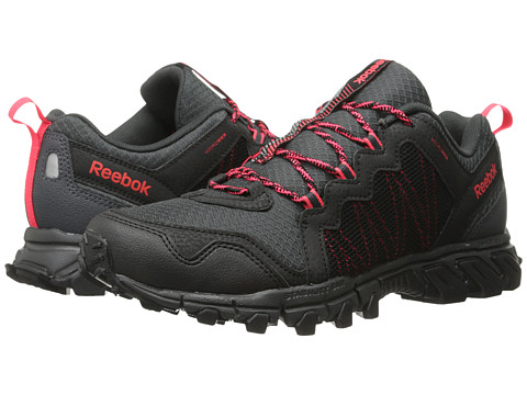 Reebok - Trail Grip 4.0 RS (Black/Gravel/Neon Cherry) Men's Running Shoes