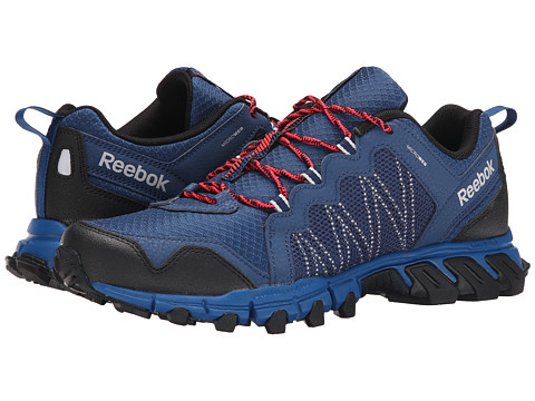 Reebok - Trail Grip 4.0 RS (Batik Blue/Handy Blue/Steel Grey/Neon Cherry/Black) Men's Running Shoes