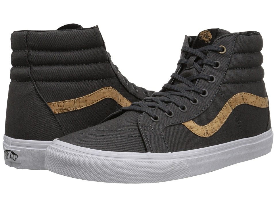 Vans - SK8-Hi Reissue ((Cork Twill) Dark Shadow) Skate Shoes