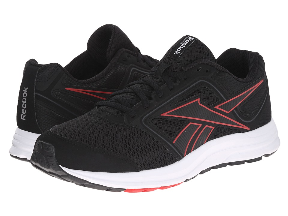 Reebok - Zone Crushrun MT (Black/Red Rush/Gravel/White/Silver Metallic/Reebok Royal) Men