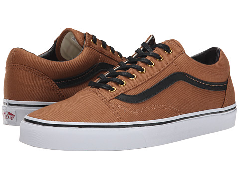 Vans - Old Skool ((T&L) Rubber/Black) Skate Shoes
