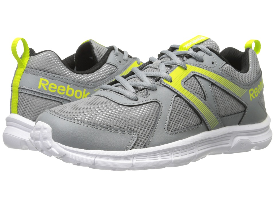 Reebok - Run Supreme MT (Flat Grey/Semi Solar Yellow/White/Black/Royal/Silver) Men