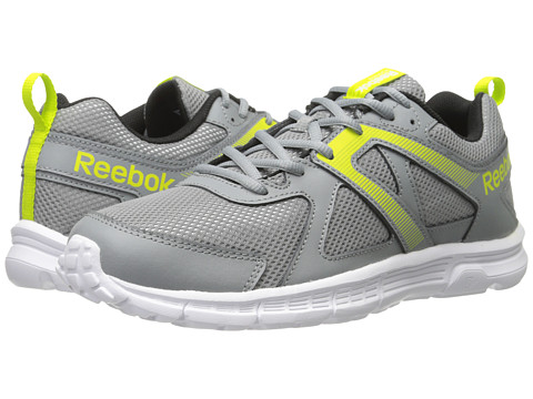 Reebok - Run Supreme MT (Flat Grey/Semi Solar Yellow/White/Black/Royal/Silver) Men's Running Shoes