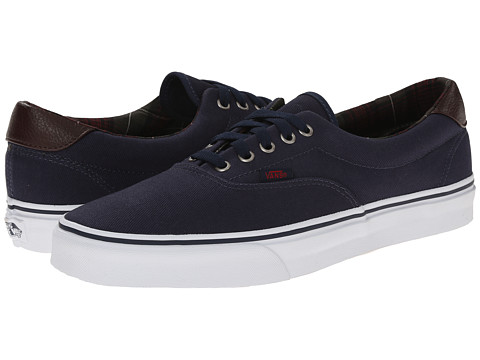 Vans - Era 59 ((Plaid) Dress Blues) Skate Shoes