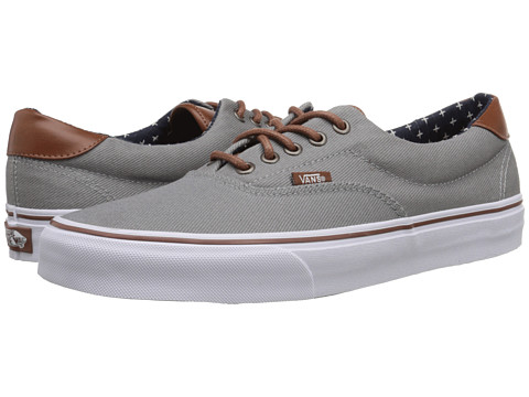 Vans - Era 59 ((T&L) Frost Gray/Plus) Skate Shoes