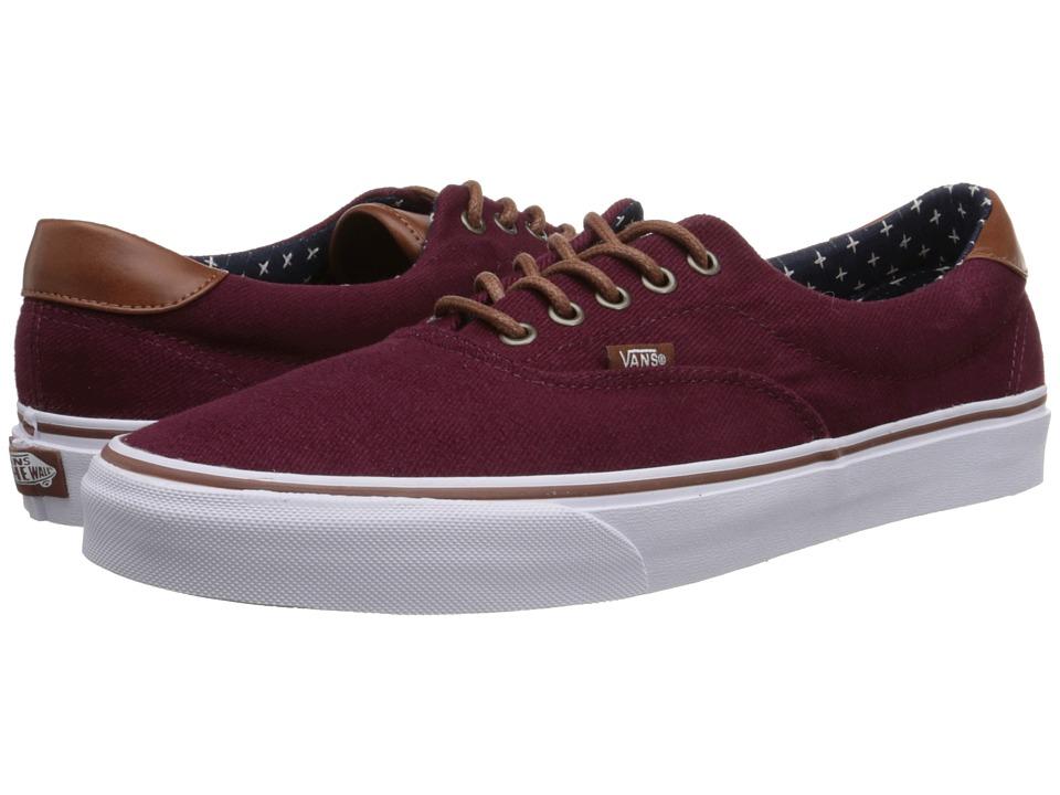 Vans - Era 59 ((T&L) Windsor Wine/Plus) Skate Shoes
