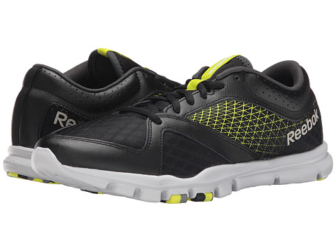 Reebok - Yourflex Train 7.0 L MT (Black/Semi Solar Yellow/Steel/Gravel) Men