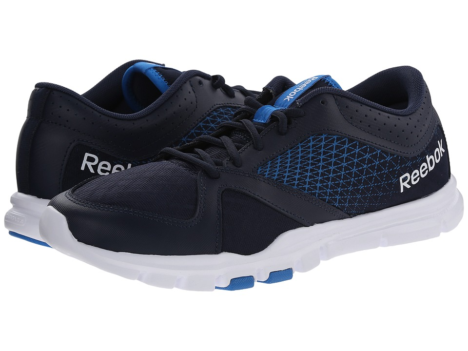 Reebok - Yourflex Train 7.0 L MT (Faux Indigo/Cycle Blue/Collegiate Navy/White) Men's Shoes