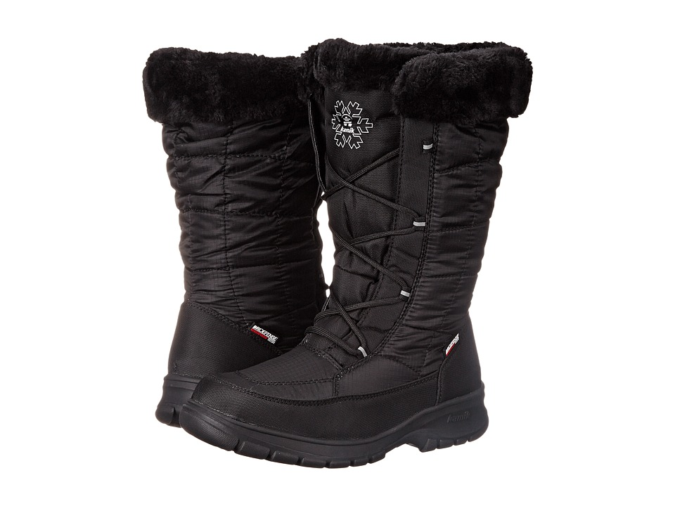 Kamik - NewYork 2 (Black 1) Women's Cold Weather Boots