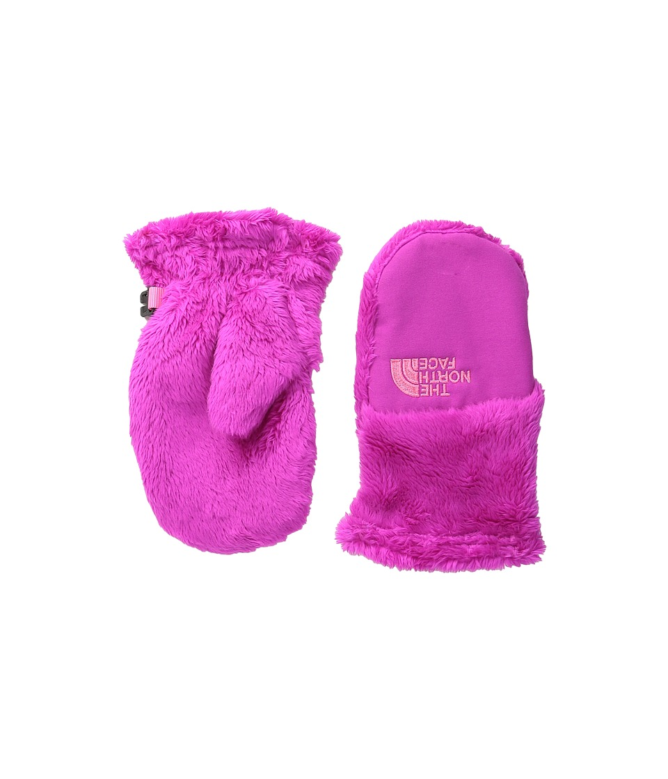 The North Face Kids Baby Oso Cute Mitt (Big Kids) (Luminous Pink (Prior Season)) Ski Gloves