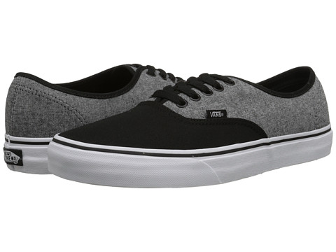 Vans - Authentic ((C&C) Black/Pewter) Skate Shoes