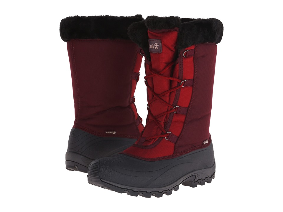 Kamik - Rival (Rosewood) Women's Cold Weather Boots