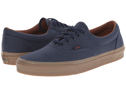 Vans - Era ((Gumsole) Blue Nights/Medium Gum) Skate Shoes