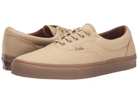 Vans - Era ((Gumsole) Khaki/Medium Gum) Skate Shoes
