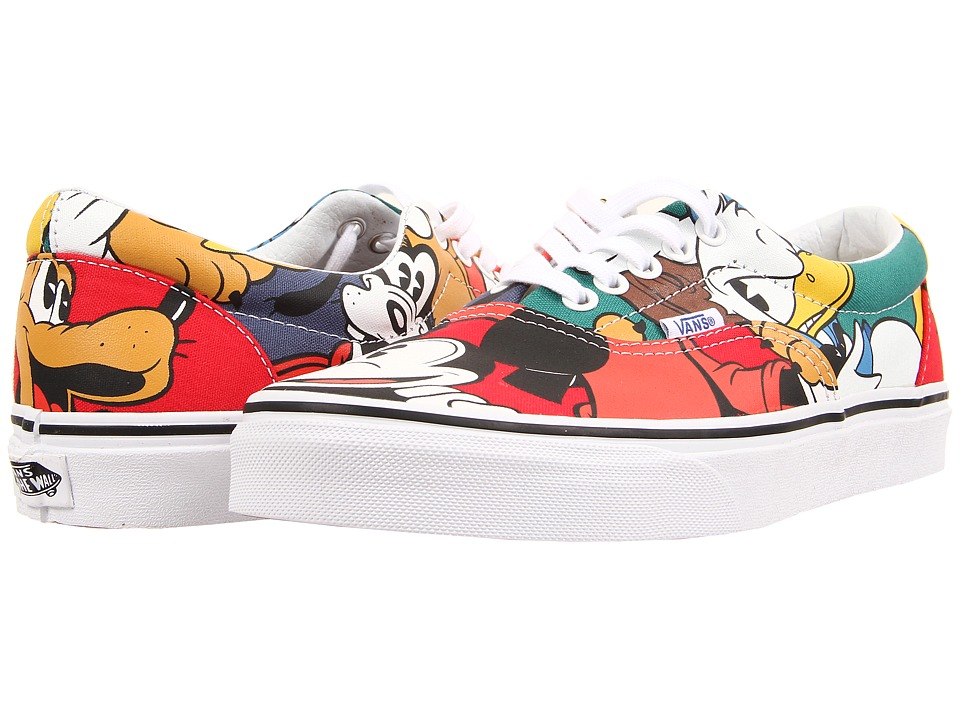 Vans - Disney Era ((Disney) Mickey & Friends/Multi) Skate Shoes