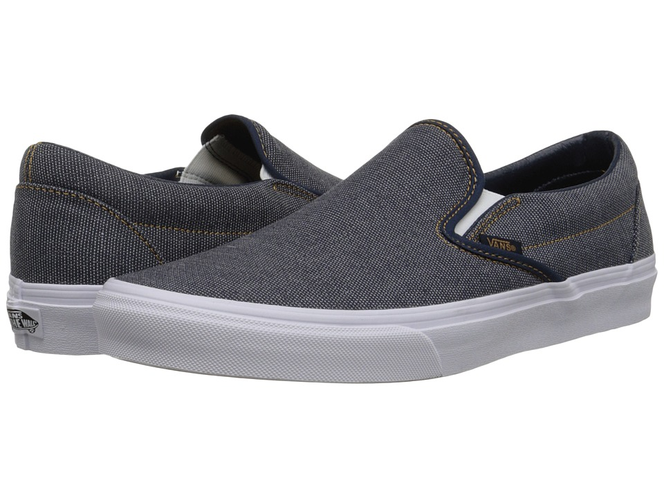Vans - Classic Slip-On ((Indigo) Dress Blues) Skate Shoes