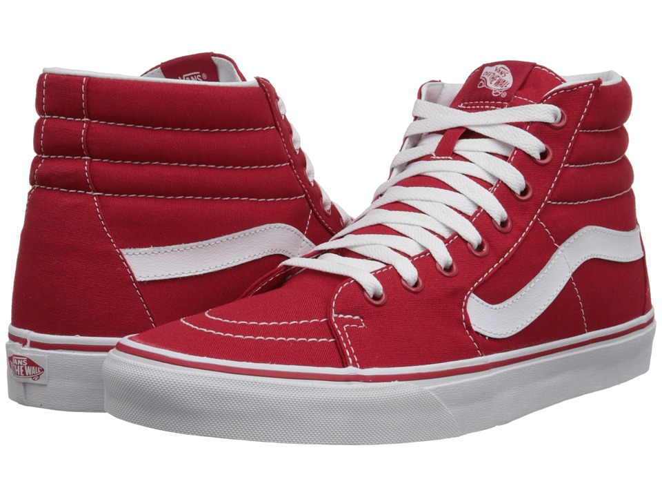 Vans SK8-Hi ((Canvas) Formula One) Skate Shoes