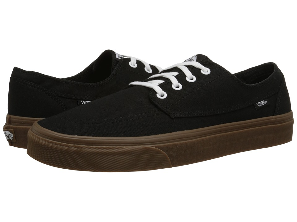 Vans - Brigata ((Gumsole) Black) Skate Shoes